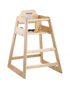 High Chair - Assembled - Natural