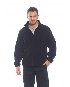 Aran Fleece Jacket, Black S