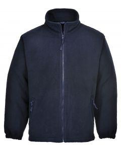 Aran Fleece Jacket, Dark Navy M