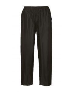 Classic Adult Rain Trousers, Black 2XL