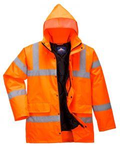 Hi-Vis Coat, Orange Size 3XL