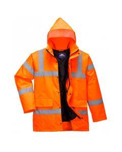 Hi-Vis Coat, Orange Size XL