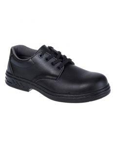 Steelite Lace Up Safety Shoe S2 - Black Size 8