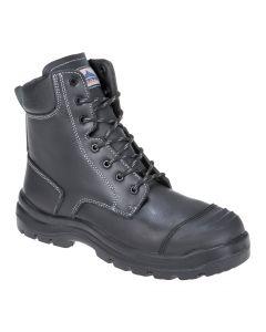 Eden Safety Boot Black Size 6