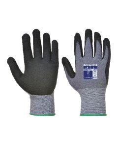 Dermiflex Glove PU/Nitrile Foam Black Size 7/S