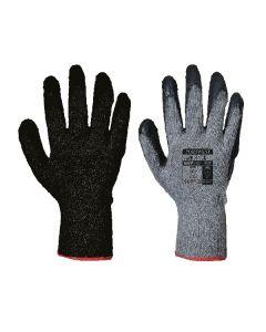 Fortis Grip Glove, Black/Black Size 8/M
