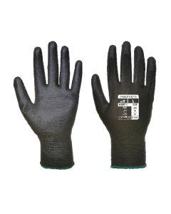 PU Palm Glove Black Size 8/M