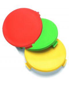 Colour Indicator Discs, Red