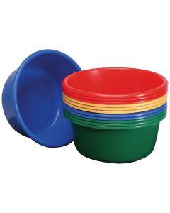 """Washing up Bowls 14"""" Round, Blue"""