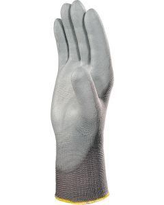 Polyamide Seamless Glove, Grey Size 8