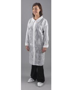 Visitors Coat, Non Woven Velcro, Large