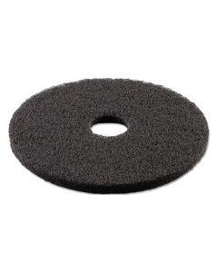 """Black 15"""" Floor Pad"""