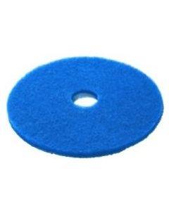 """Blue 17"""" Floor Pad"""